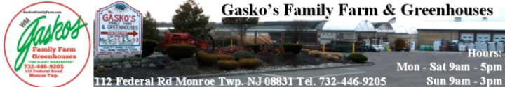 Gaskos Family Farm The Plant Warehouse