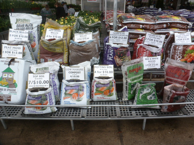 Planting Supplies and Decorations