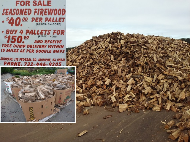 Pallet of Firewood $40