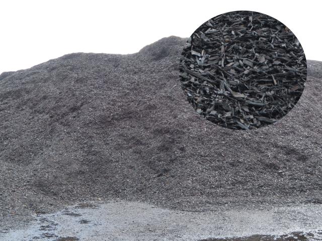 Bulk Black Mulch